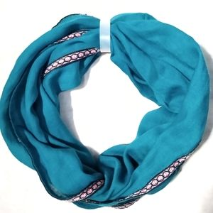 Accessories - Blue Turquoise Infinity Scarf NWOT